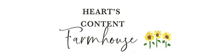 Heart's Content Farmhouse logo