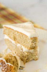 Old Fashioned Spice Cake with Caramel Frosting