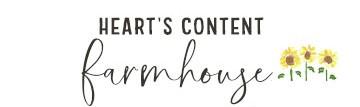 Heart's Content Farmhouse logo