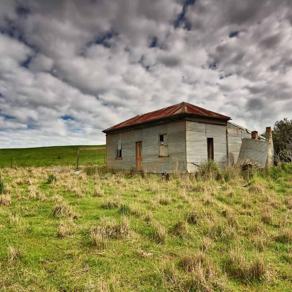 old run down shack on the prairie