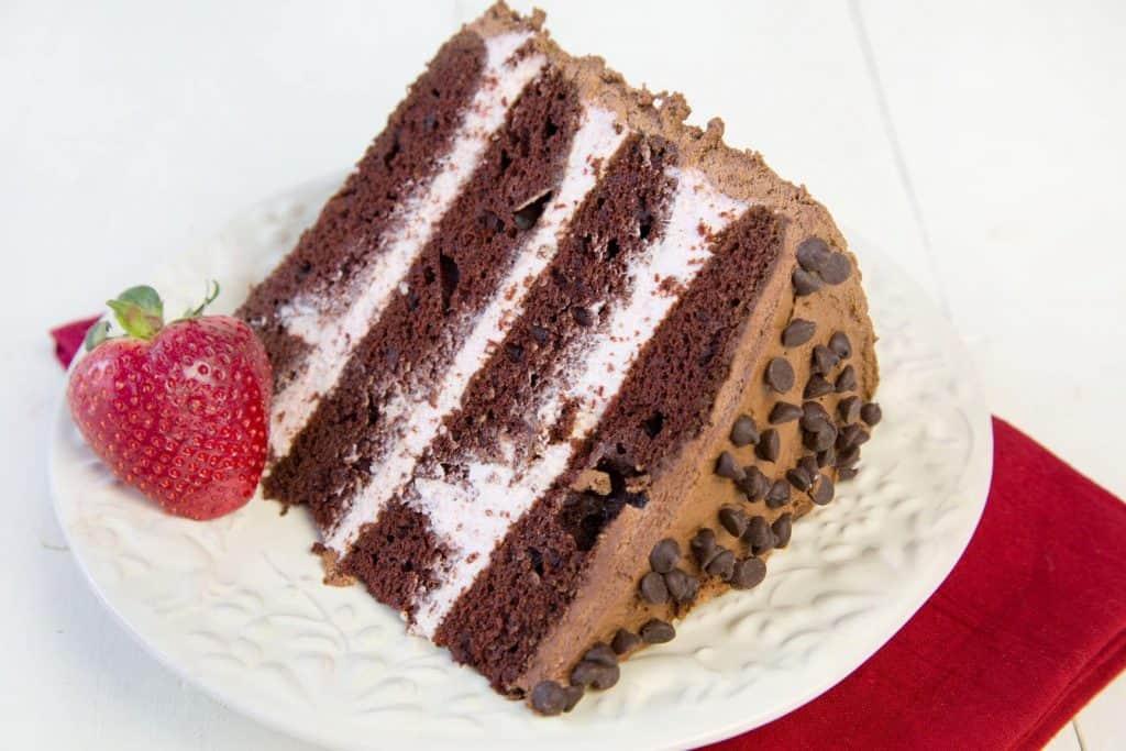 valentines day chocolate cake