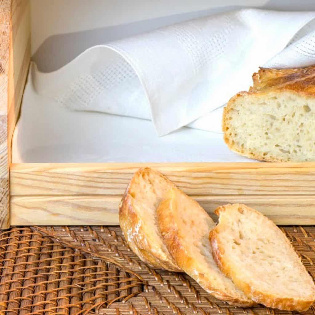 bread box for storing homemade sourdough