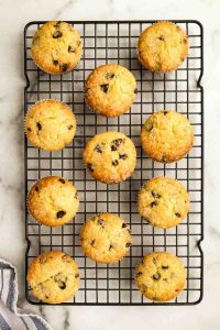 Quick & Easy Chocolate Chip Sourdough Muffins